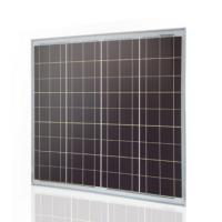 Residential 65 Watt Poly Crystalline Solar Panel Tempered Glass Full Certificate Manufactures