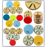Diamond Polishing Pads Dry Use For Hard Concrete C40+(40 mpa.) and Terrazzo Manufactures