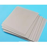 China 6 Inch 1.0mm Ceramic Substrate , Alumina Ceramic Plate For Semiconductor Processing on sale