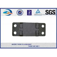 Quality Rail Fasteners Railroad Tie Plates Oxide Black  Guide Plate Casting Technology for sale