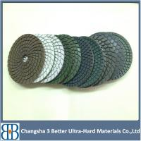 4inch 7inch Wet diamond polishing pad Manufactures