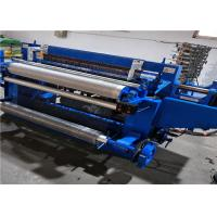 Full Automatic Welded Wire Mesh Roll Welding Machine For 0.8-1.5mm Wire Diameter Manufactures