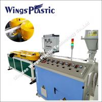 PP Flexible and Expansible Drainage Corrugated Pipe Extruder Machine / Making Machine Manufactures