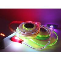 China 5 Color PVC 1M USB Extension Cable Micro Braided Mini LED Charger TPE Led Light For Smartphone on sale