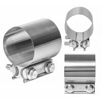 Easy Installation Exhaust Band Clamp Stainless Steel Exhaust Pipe Clamps Manufactures