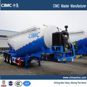 cimc 3 axles 30 tonnes bulk cement tank trailer sales for kenya Manufactures