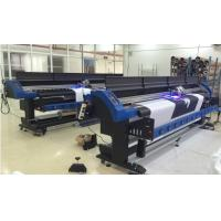Epson DX7 LED UV Inkjet Printer 1700mm With CMYK and White / Grossy ink Manufactures