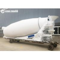China 10m3 Hydraulic Concrete Mixer Truck With Tank Update Drum On Site High Performance on sale