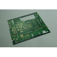 Custom Green HAL Printed Multi Layer PCB Boards for High End Electronic 8 Layers 0.7mm Manufactures