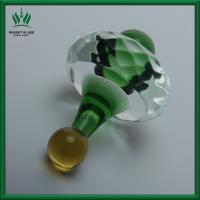 3 Inches Glass Oil Carb Cap And Dabber Tool 5 Mm Glass Thickness For Bongs Manufactures