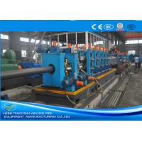 Heavy Duty ERW Pipe Mill Machine Worm Gearing Rectangular 165 * 6mm Pipe Size Manufactures