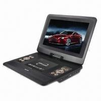 China 7-/9-inch portable DVD player for car and home use on sale