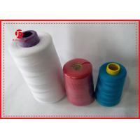100% Polyester High Tenacity Sewing Thread 40/2 Polyester Spun Yarn For Dyeing Manufactures
