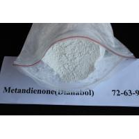 Muscle Gain White Oral Dianabol / Dbol Raw Powders CAS 72-63-9 Manufactures