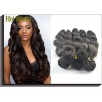 Quality Body Wave Virgin Human Hair Extensions For Black Girls Can Ben Restyled for sale