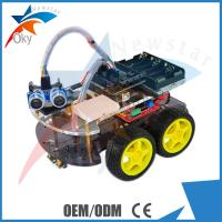 Buy cheap 4WD Car Ultrasonic Line track Obstacle Avoidance Anti drop Smart Car Robot Kit from wholesalers