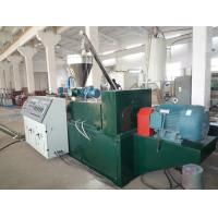 PVC Powder Wood Plastic Pelletizing Machine , Recycling Granule Extruder Manufactures