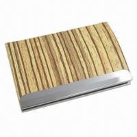 Cortex Business Card Case, Made of Stainless Steel Manufactures