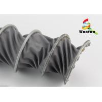 Ventilation High Temp PVC Flexible Ducting Waterproof Compressing Manufactures