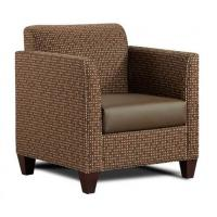 Custom Singe Living Room Couches , Fabric Sectional Sofas Dark Color Manufactures