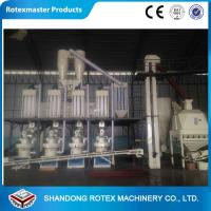 China Capacity 2.5-3.5 T/ H Wood Fuel Pelleting Machines , Wood Pellets Maker YGKJ850 on sale