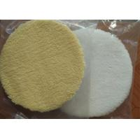 Durable 6 Inch Wool Polishing Pad Round Shape High Security For Car Care Manufactures