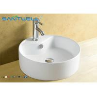 Basin Above Counter Mounting Ceramic Vanity Hand Wash Basin 410*410*145mm Manufactures