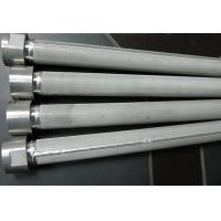 Buy cheap High Filtering Accuracy Wire Mesh Filter Element For Water Treatment , SGS from wholesalers