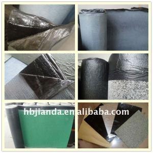 1mm 1.5mm high polymer self-adhesive bituminous waterproof membrane Manufactures