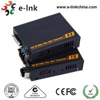 DVI-D Video To Fiber Media Converter Multi Mode 350 Meters LC SFP Including 1 Transmitter 1 Receiver Manufactures