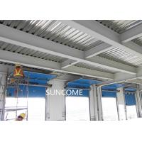 Galvanized Steel Frame High Speed Sectional Doors High frequency Motor Manufactures