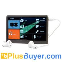 China The Bomb - 4.3 Inch Touchscreen MP6 Player with FM Radio - 8GB on sale