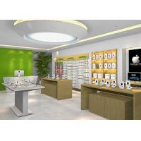 Combination Item Cell Phone Showroom Display Cases Modern Style With Nice Design Manufactures