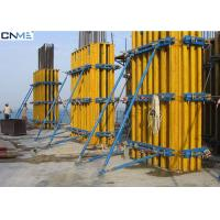 Eco Friendly Rectangular Column Formwork Products For Concrete Construciton Manufactures