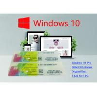 Win 10 Pro French USB 3.0 Pack Windows 10 Product Key FQC -08920 Verified OEM Key Manufactures