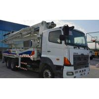 40M Used ZOOMLION Concrete Pump Truck -- HINO Manufactures