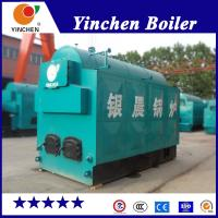 China Textile Industry Fire And Water Tube Boiler / Coal Wood Pellet Fired Steam Boiler on sale