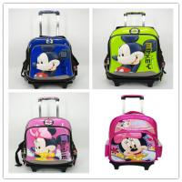 Original Disney Mickey Mouse and Minnie Mouse Kid's School Bag Trolley Bag Manufactures