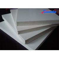 Non - Toxic Printable PVC White Foam Board with 800N Screw Holding Strength Manufactures