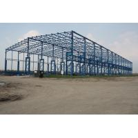 Posco Factory Building Steel Frame Light Gauge 43000 Square Meters Manufactures