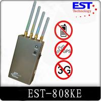 Indoor 30dbm Portable Cell Phone Jammer 1 Watt For Conference Room Manufactures
