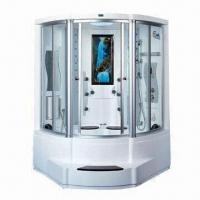China Luxury Steam Room with Shower Head, Steam Sauna, Massages, Shower Tray, Radio, Top Light and Surfing on sale