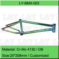 China 20 Inch Double Butted BMX Bike Frame on sale