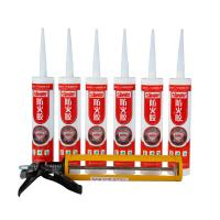 China Fire Rated Silicone Caulk / Heat Proof Silicone Sealant In Building Facade on sale