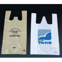 Durable Shopping T Shirt plastic garment bags grocery polybags Manufactures