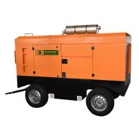Light Weight Diesel Powered Portable Air Compressor Good Dynamic Balance Manufactures