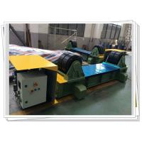 Buy cheap Hydraulic Driven Fit Up Rotator Tank Turning Rolls With PU Wheel from wholesalers