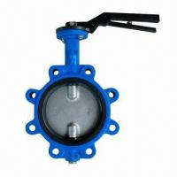 F201 Lug Type Butterfly Valve, -40 to 130°C Temperature Manufactures
