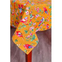 Orange Custom Printed Tablecloths Machine Washable For Home Kitchen Table Manufactures