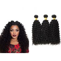 China Unproessed Brazilian Curly Human Hair Extensions Weave Soft Smooth Double Wefted on sale